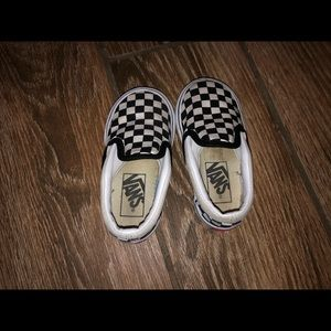 Vans Shoes Toddler 5 C Checkered Poshmark